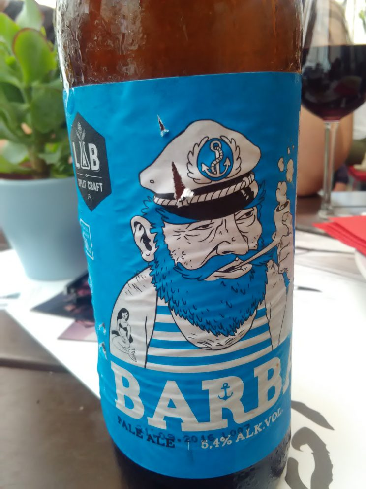 If I would have a product placement in my film, I would definitely pick Barba - new and amazingly tasty beer made in Split.